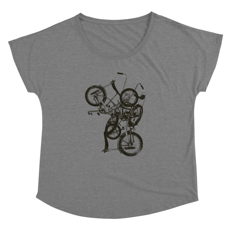 Bike Chaos | On Sale!   ➔ Women's Scoop Neck by The Mindful Tee