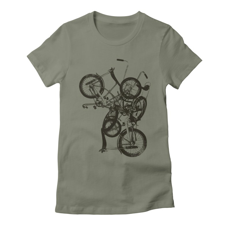 Bike Chaos | On Sale!   ➔ Women's T-Shirt by The Mindful Tee