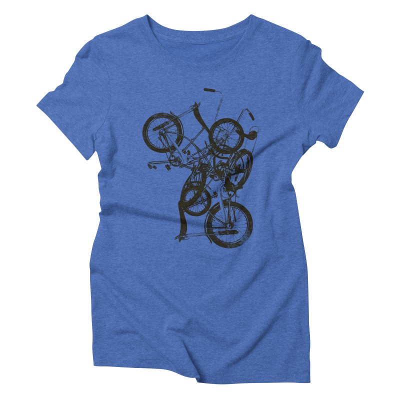 Bike Chaos | On Sale!   ➔ Women's Triblend T-Shirt by The Mindful Tee