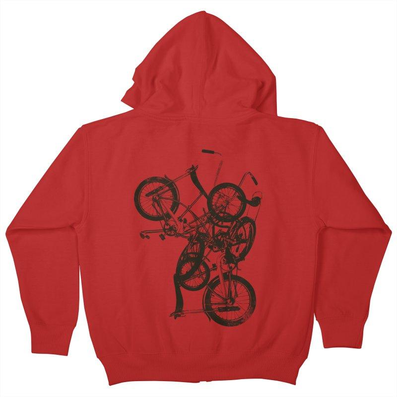 Bike Chaos | On Sale!   ➔ Kids Zip-Up Hoody by The Mindful Tee