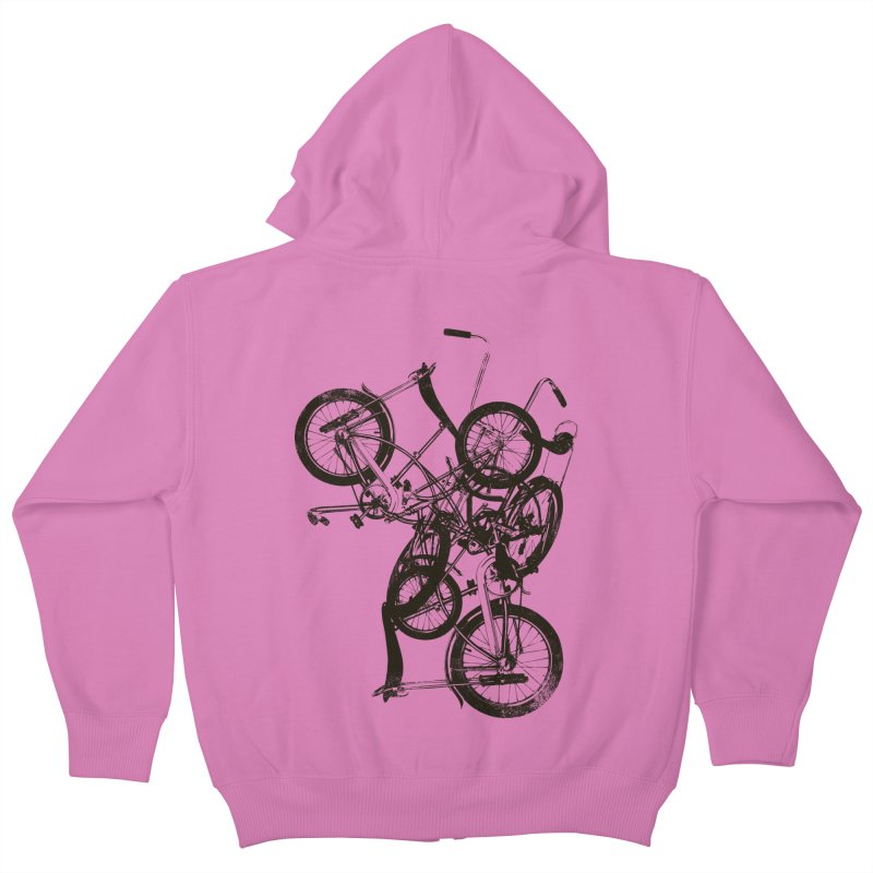 Bike Chaos | On Sale!   ➔ Kids Zip-Up Hoody by The Mindful Tee