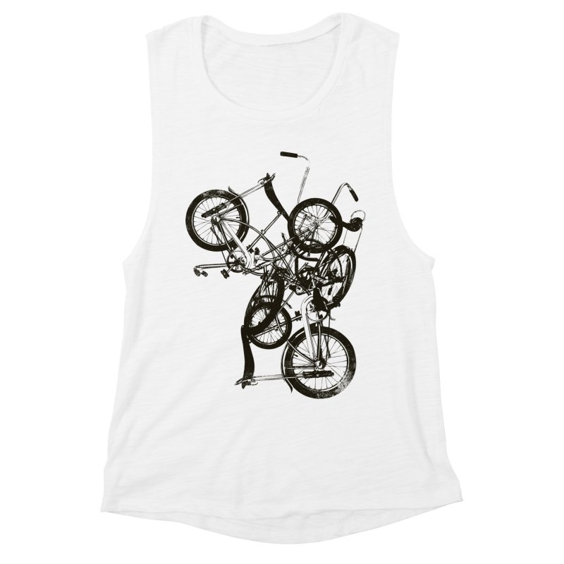 Bike Chaos | On Sale!   ➔ Women's Muscle Tank by The Mindful Tee