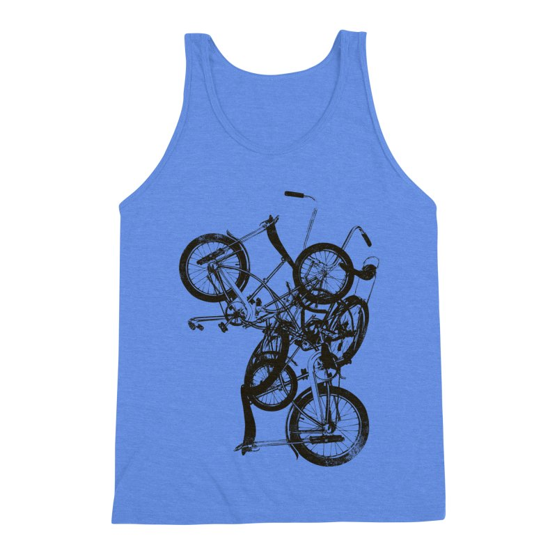Bike Chaos | On Sale!   ➔ Men's Triblend Tank by The Mindful Tee