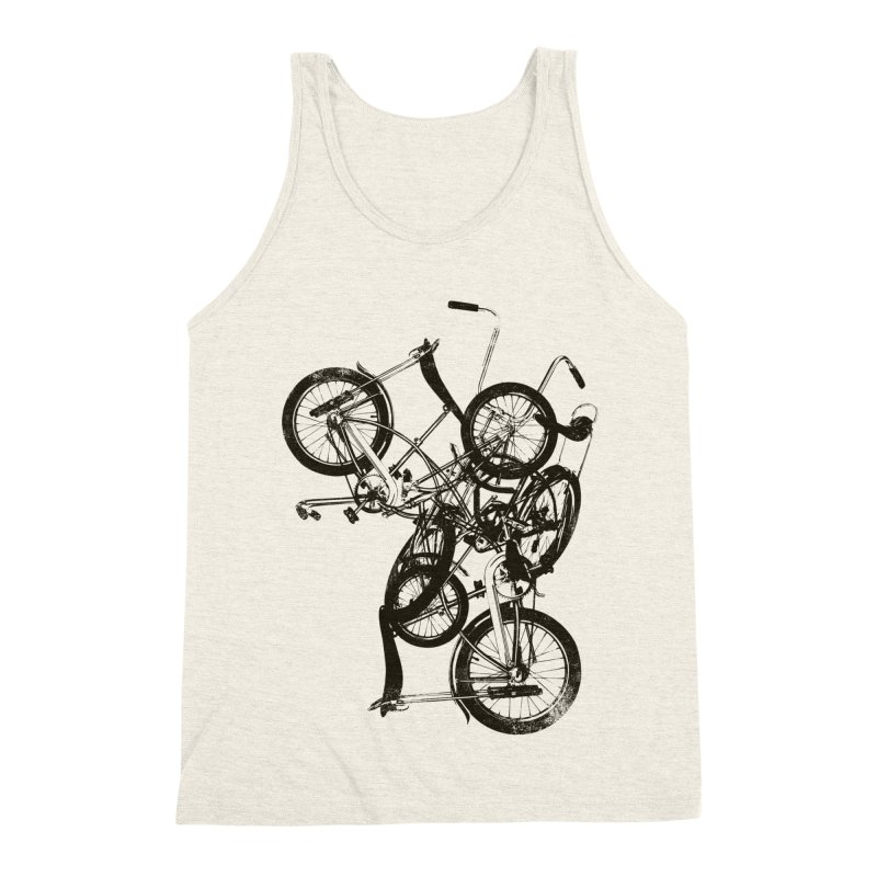 Bike Chaos   On Sale!   ➔ Men's Triblend Tank by The Mindful Tee