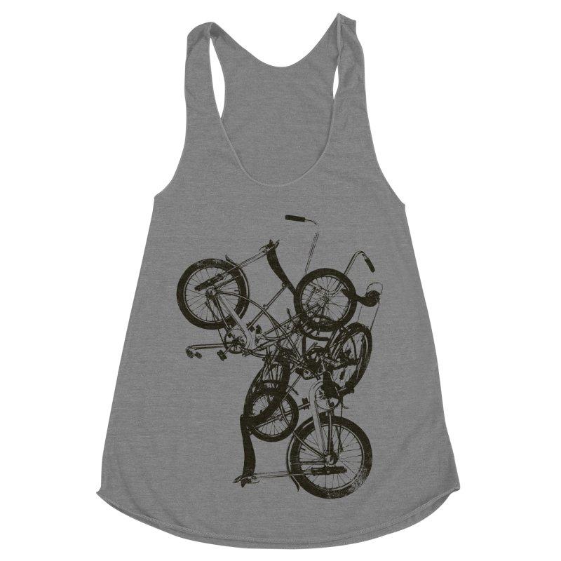 Bike Chaos | On Sale!   ➔ Women's Racerback Triblend Tank by The Mindful Tee
