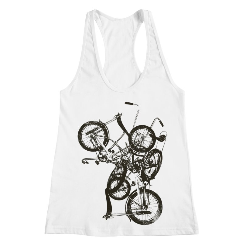 Bike Chaos | On Sale!   ➔ Women's Racerback Tank by The Mindful Tee