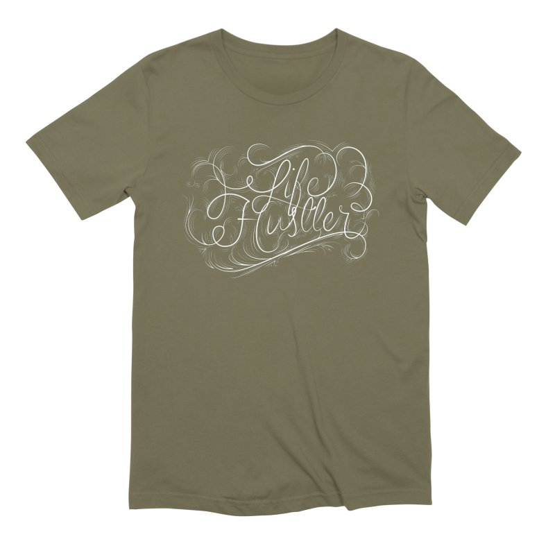Life Hustler Men's Extra Soft T-Shirt by The Mindful Tee