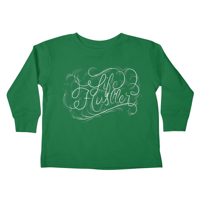 Life Hustler Kids Toddler Longsleeve T-Shirt by The Mindful Tee