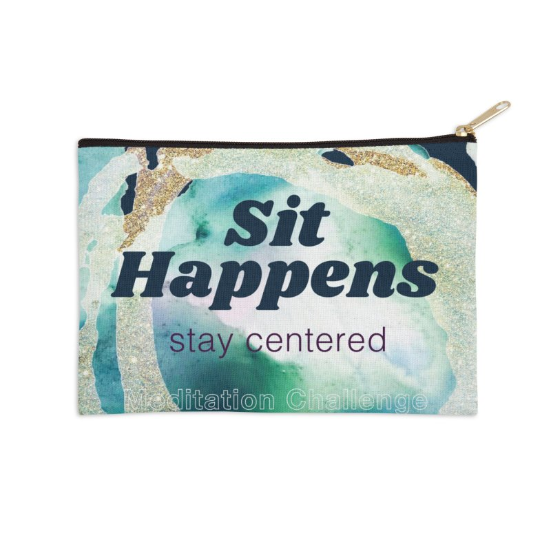 Meditation Swag in Zip Pouch by Support Community Meditation on Mind Oasis