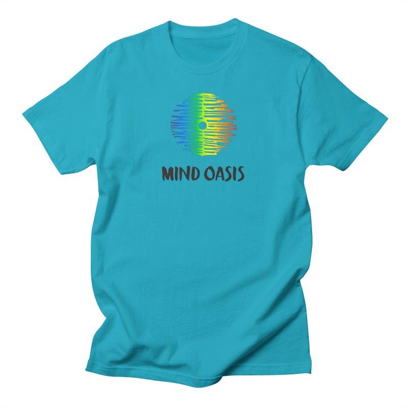 Pride Month Men's T-Shirt by Support Community Meditation on Mind Oasis