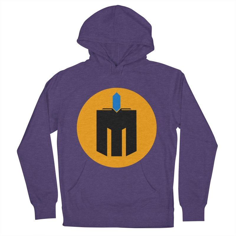 MQ - Plain Men's French Terry Pullover Hoody by minequests's Artist Shop