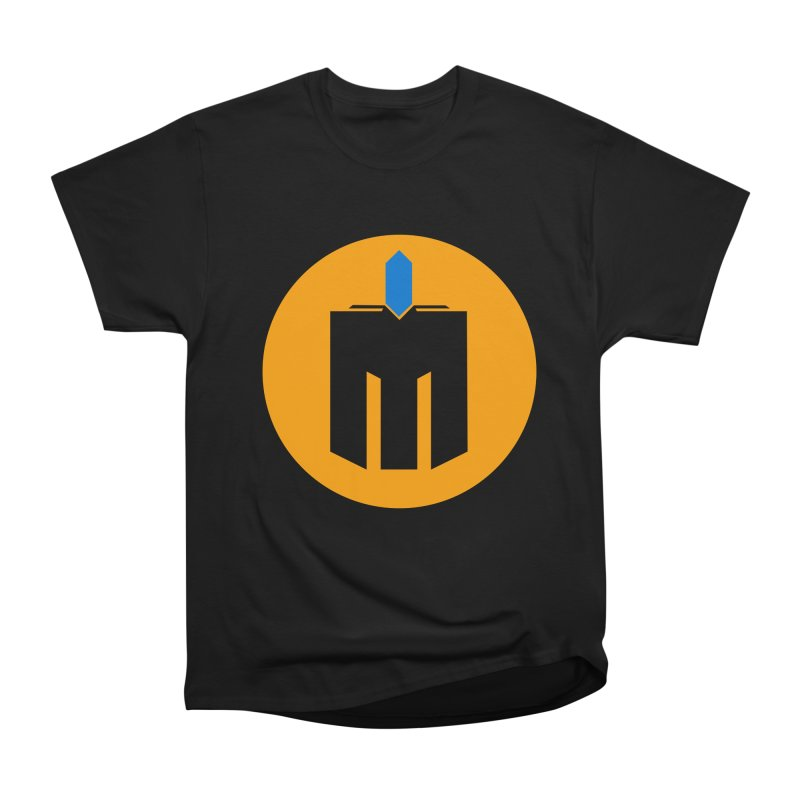 MQ - Plain Men's Heavyweight T-Shirt by minequests's Artist Shop