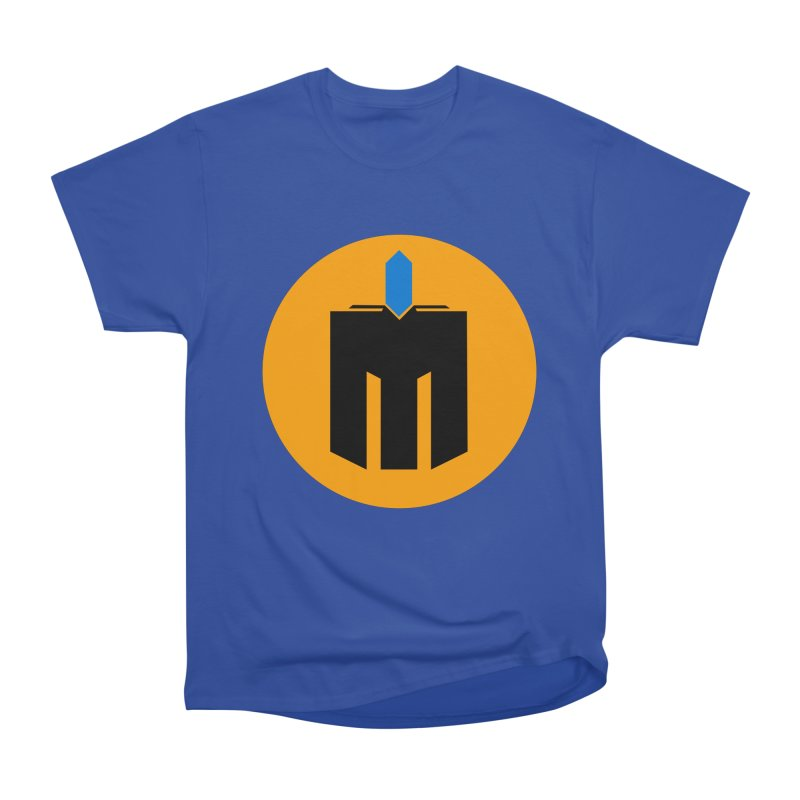MQ - Plain Men's Heavyweight T-Shirt by minequests's Artist Shop
