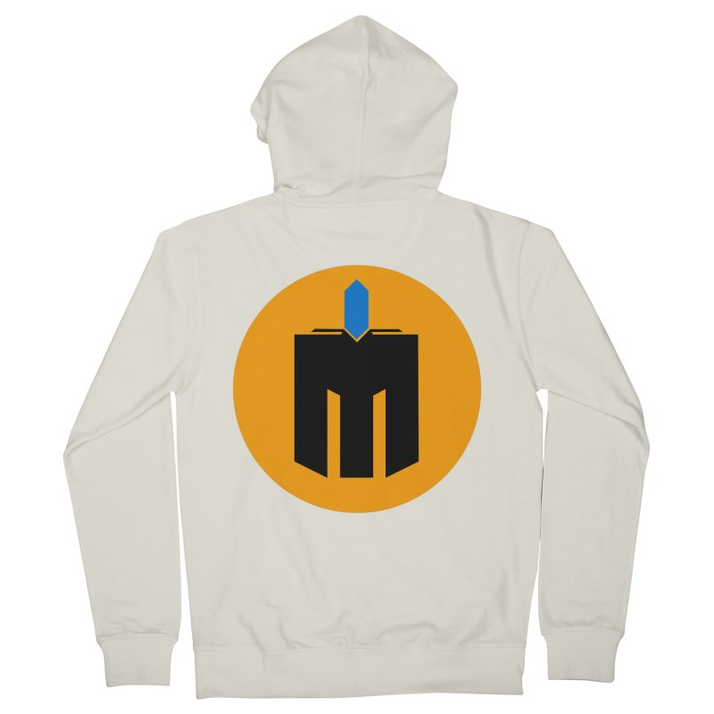 MQ - Plain Men's French Terry Zip-Up Hoody by minequests's Artist Shop