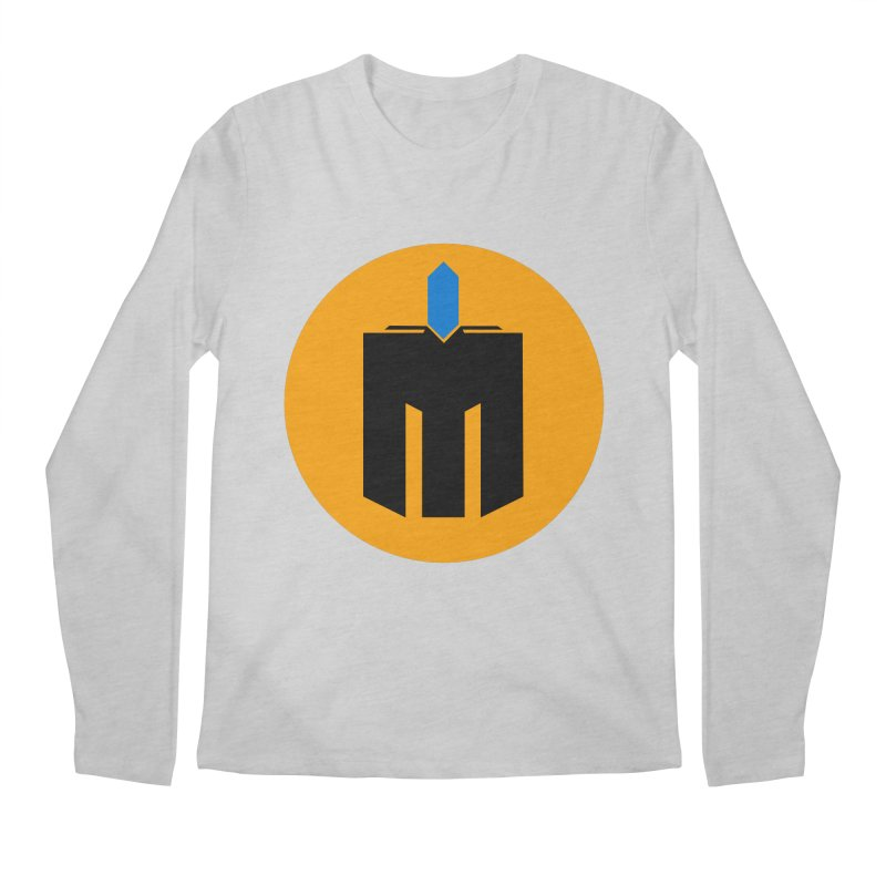 MQ - Plain Men's Regular Longsleeve T-Shirt by minequests's Artist Shop