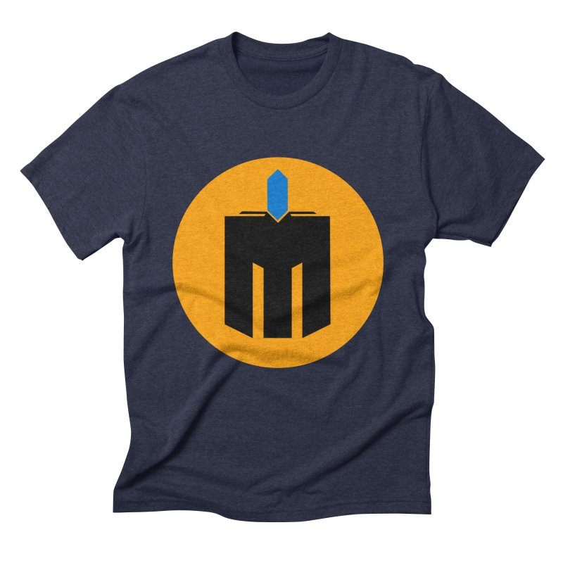 MQ - Plain Men's Triblend T-Shirt by minequests's Artist Shop