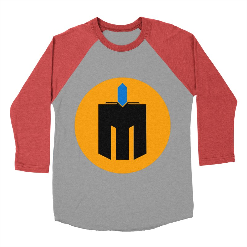 MQ - Plain Men's Baseball Triblend Longsleeve T-Shirt by minequests's Artist Shop