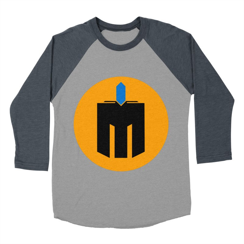 MQ - Plain Men's Baseball Triblend Longsleeve T-Shirt by minequests's Artist Shop