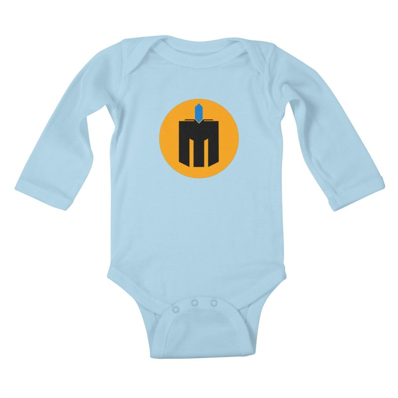 MQ - Plain Kids Baby Longsleeve Bodysuit by minequests's Artist Shop