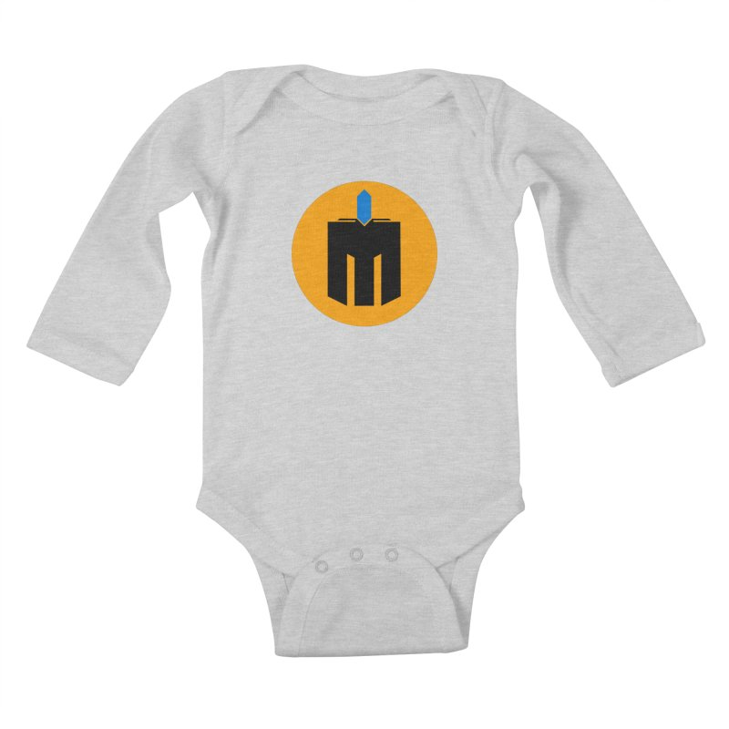 MQ - Plain Kids Baby Longsleeve Bodysuit by minequests's Artist Shop
