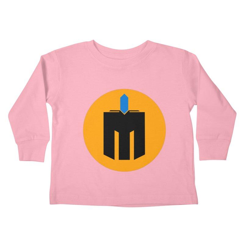 MQ - Plain Kids Toddler Longsleeve T-Shirt by minequests's Artist Shop