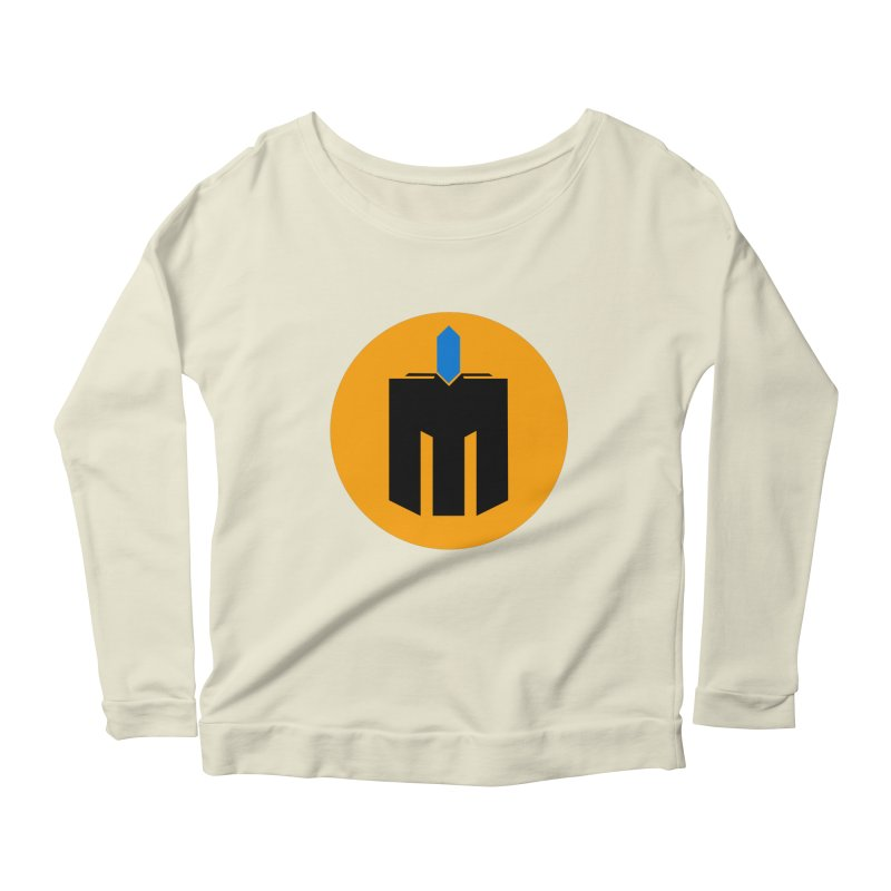 MQ - Plain Women's Scoop Neck Longsleeve T-Shirt by minequests's Artist Shop