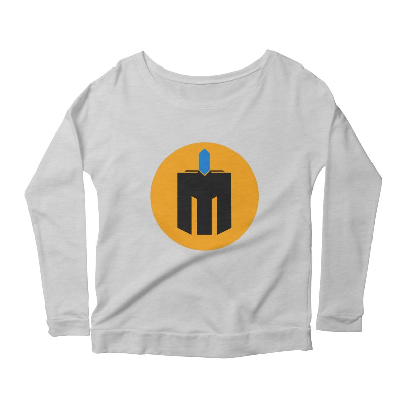 MQ - Plain Women's Scoop Neck Longsleeve T-Shirt by minequests's Artist Shop