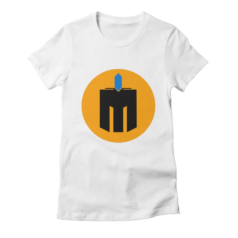 MQ - Plain Women's Fitted T-Shirt by minequests's Artist Shop