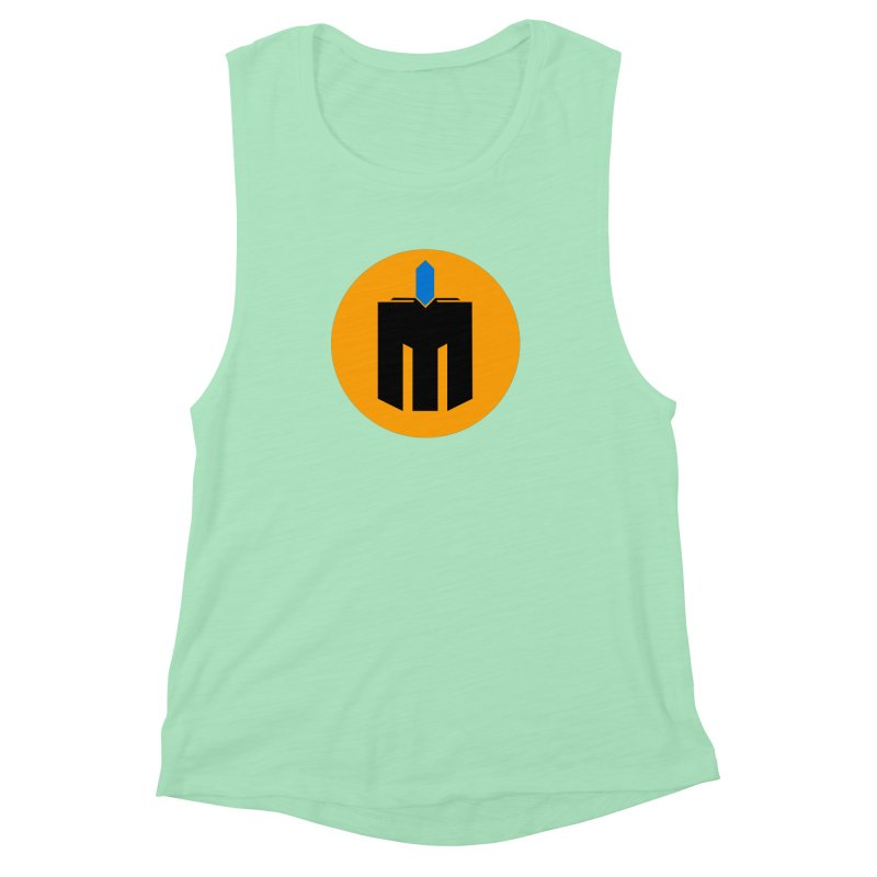 MQ - Plain Women's Muscle Tank by minequests's Artist Shop