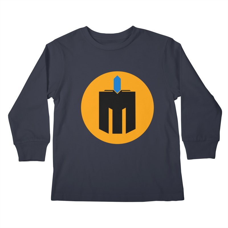 MQ - Plain Kids Longsleeve T-Shirt by minequests's Artist Shop