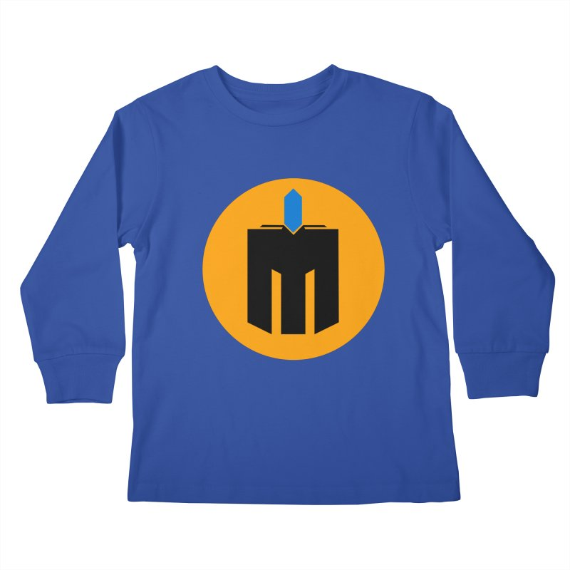 MQ - Plain Kids Longsleeve T-Shirt by minequests's Artist Shop