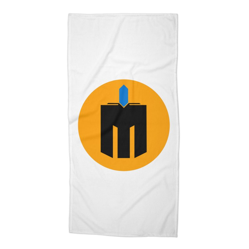 MQ - Plain Accessories Beach Towel by minequests's Artist Shop