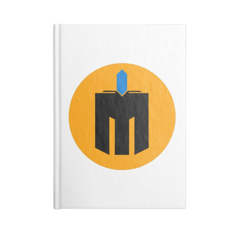 MQ - Plain Accessories Blank Journal Notebook by minequests's Artist Shop