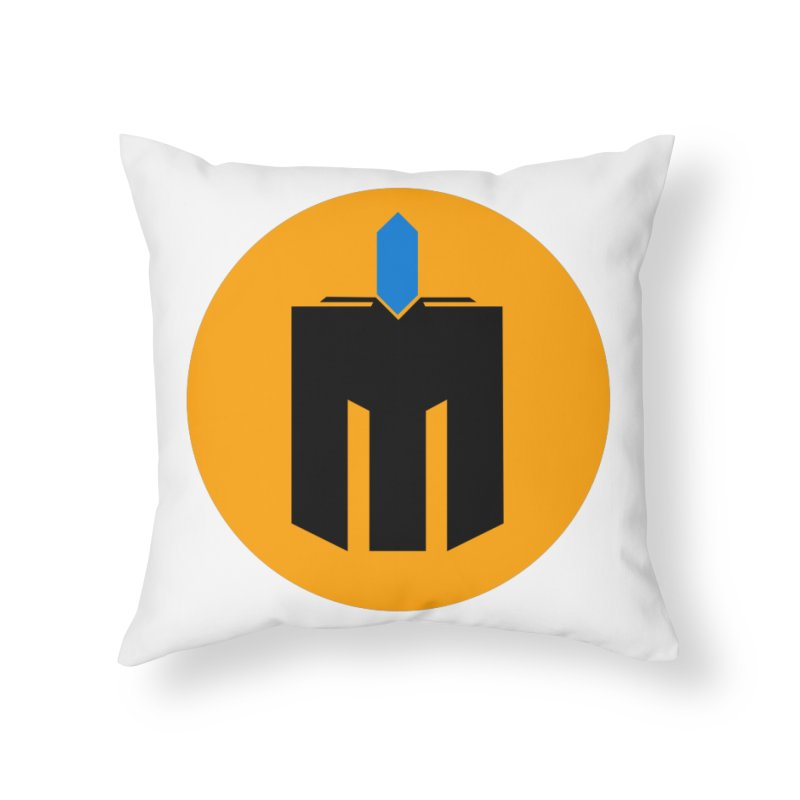 MQ - Plain Home Throw Pillow by minequests's Artist Shop