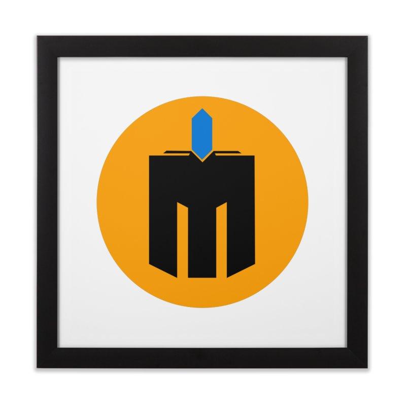 MQ - Plain Home Framed Fine Art Print by minequests's Artist Shop