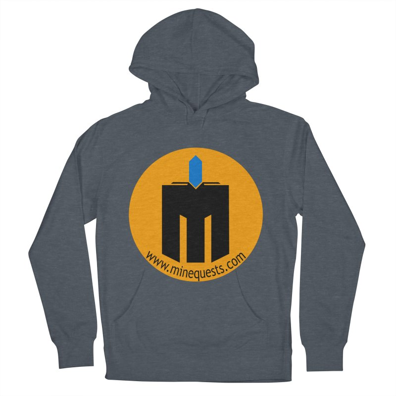 MQ - Website Women's French Terry Pullover Hoody by minequests's Artist Shop