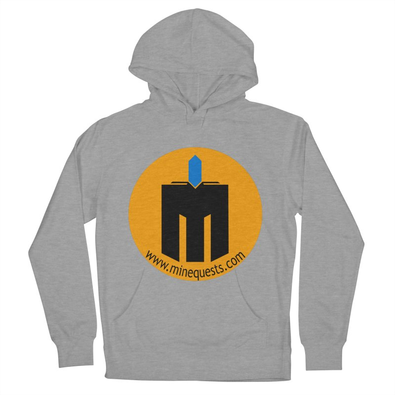 MQ - Website Men's French Terry Pullover Hoody by minequests's Artist Shop