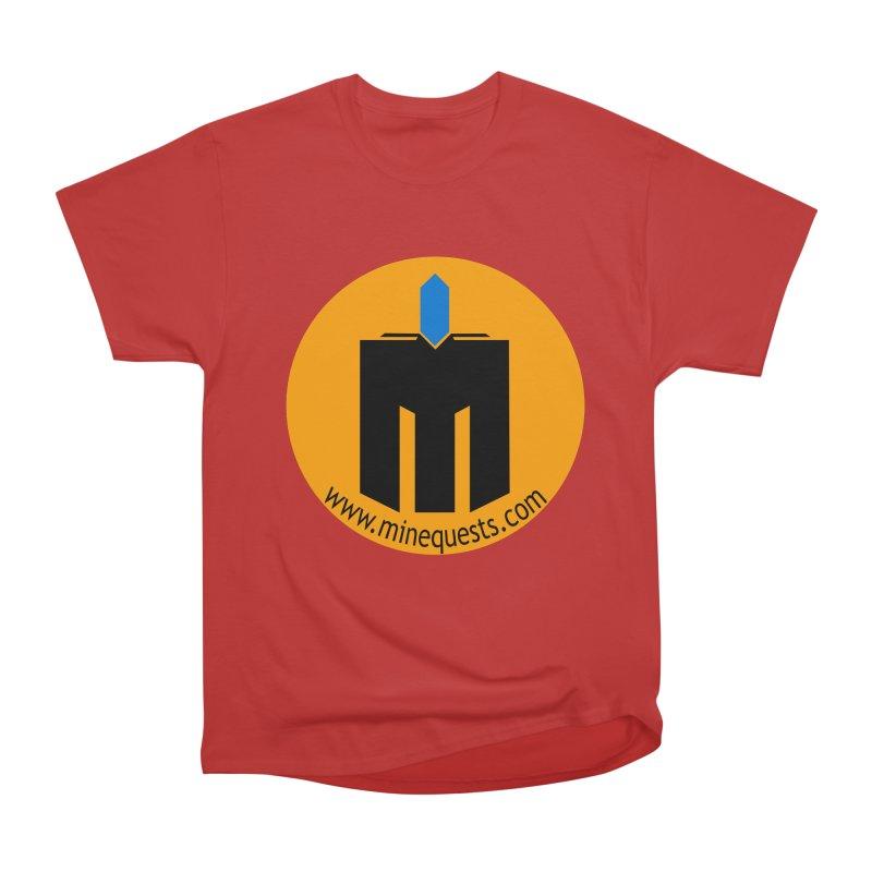 MQ - Website Men's Heavyweight T-Shirt by minequests's Artist Shop