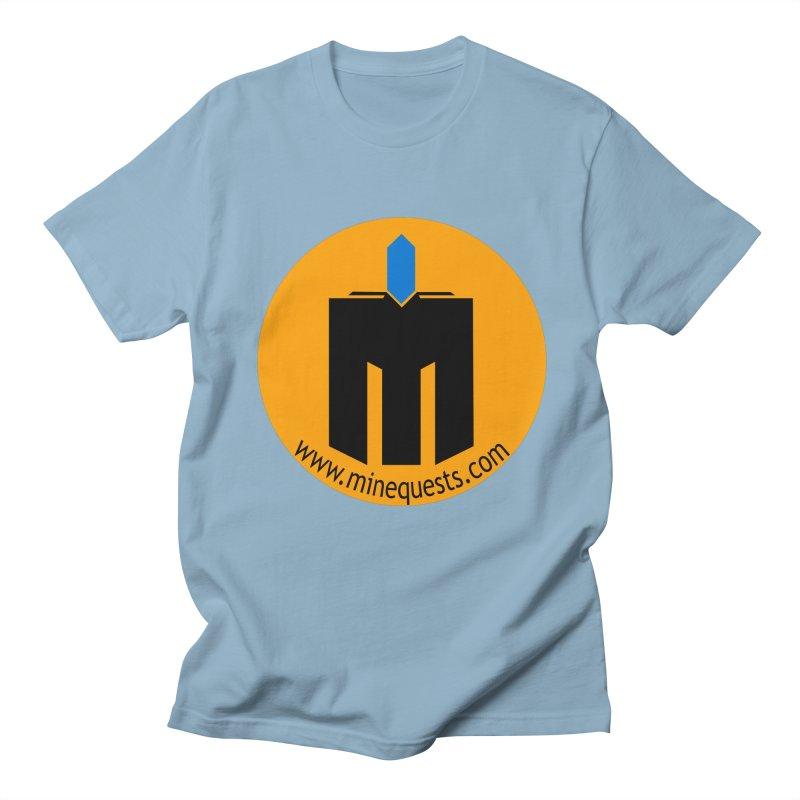 MQ - Website Men's Regular T-Shirt by minequests's Artist Shop