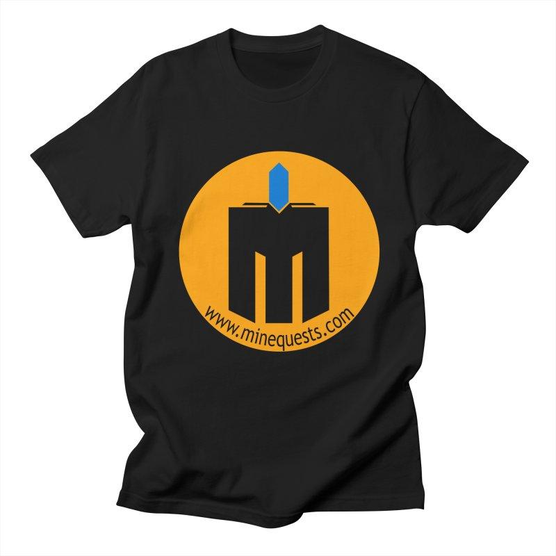 MQ - Website Women's Regular Unisex T-Shirt by minequests's Artist Shop