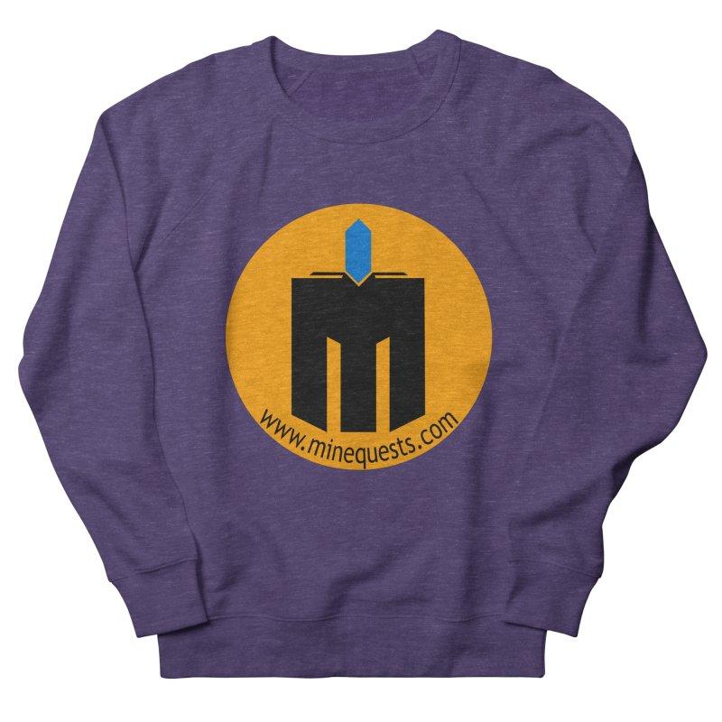 MQ - Website Women's French Terry Sweatshirt by minequests's Artist Shop
