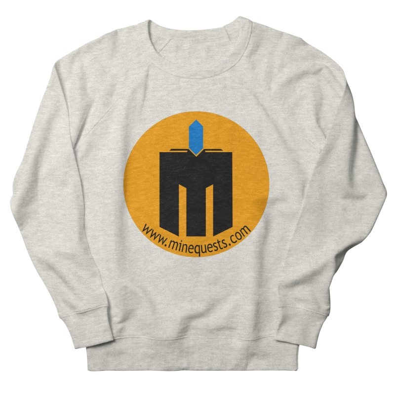 MQ - Website Women's French Terry Sweatshirt by minequests's Artist Shop