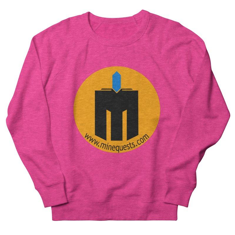 MQ - Website Men's French Terry Sweatshirt by minequests's Artist Shop