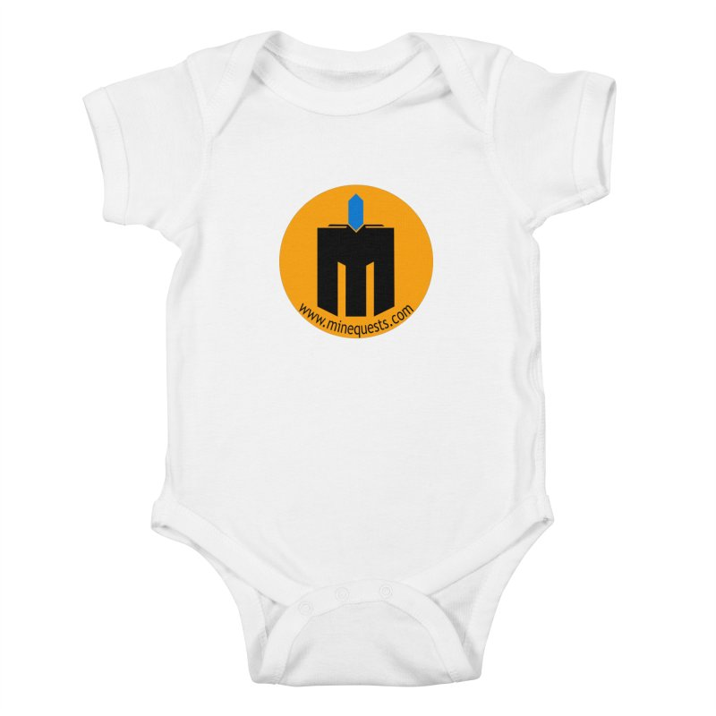 MQ - Website Kids Baby Bodysuit by minequests's Artist Shop