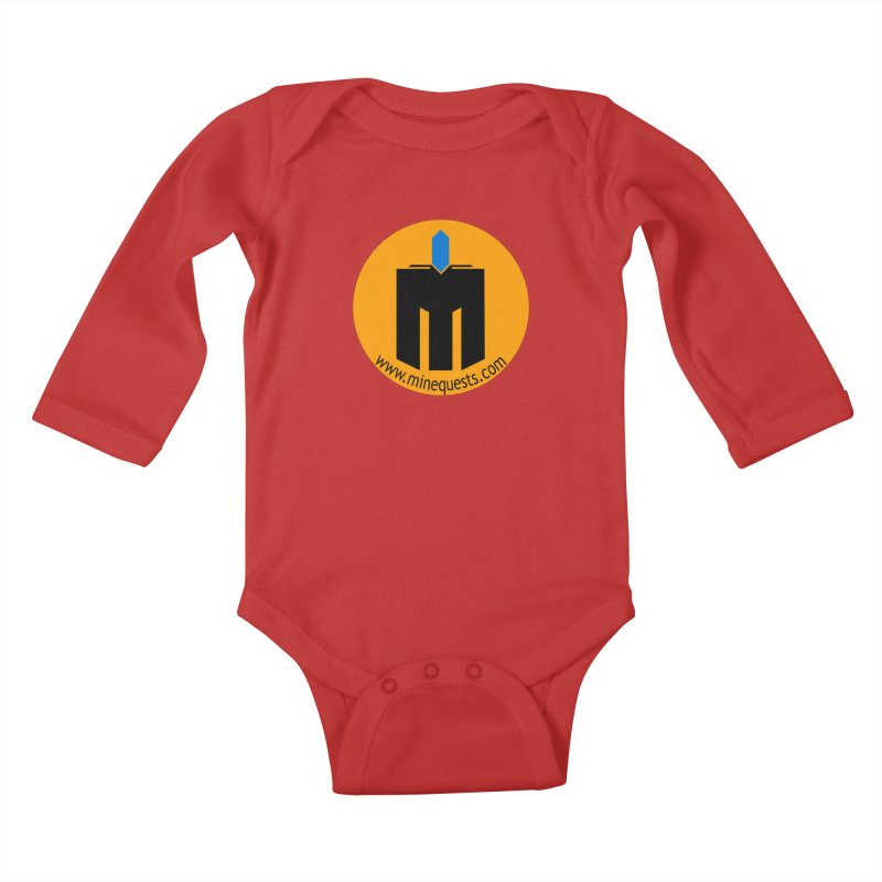 MQ - Website Kids Baby Longsleeve Bodysuit by minequests's Artist Shop