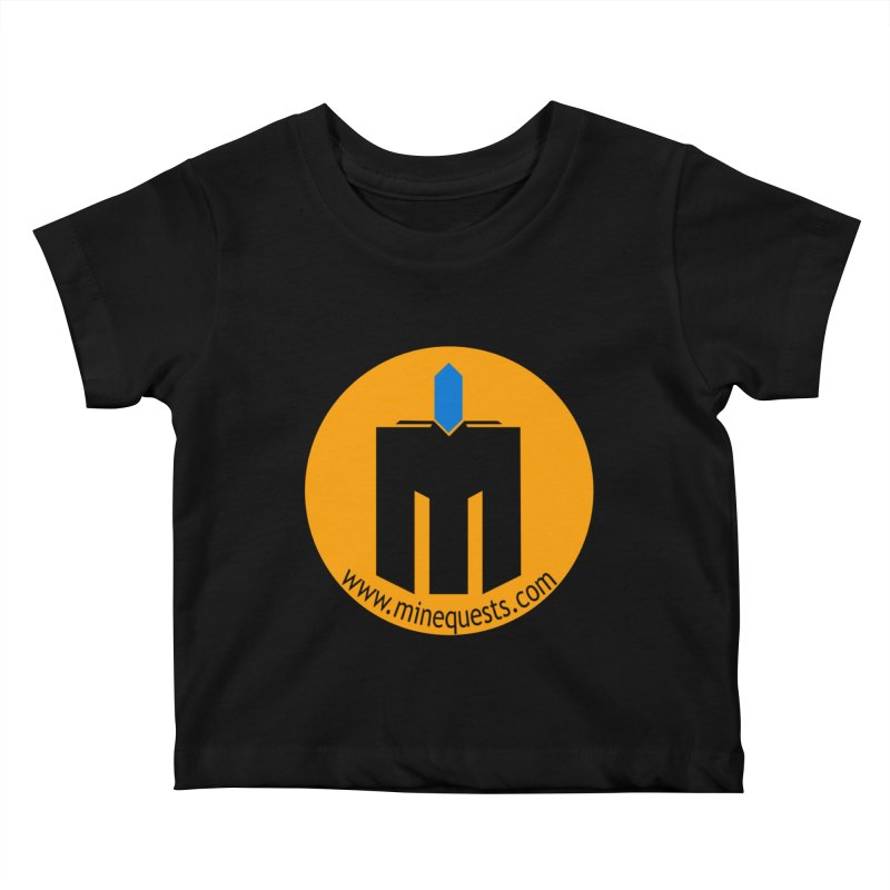 MQ - Website Kids Baby T-Shirt by minequests's Artist Shop