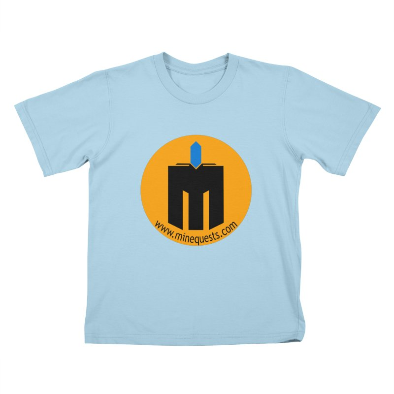 MQ - Website Kids T-Shirt by minequests's Artist Shop
