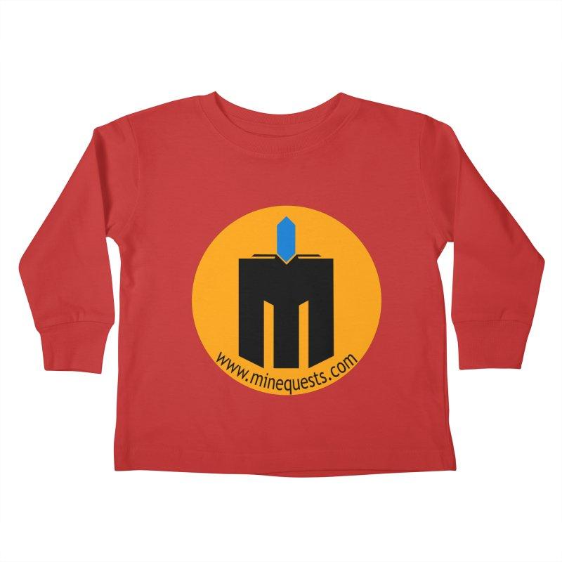 MQ - Website Kids Toddler Longsleeve T-Shirt by minequests's Artist Shop