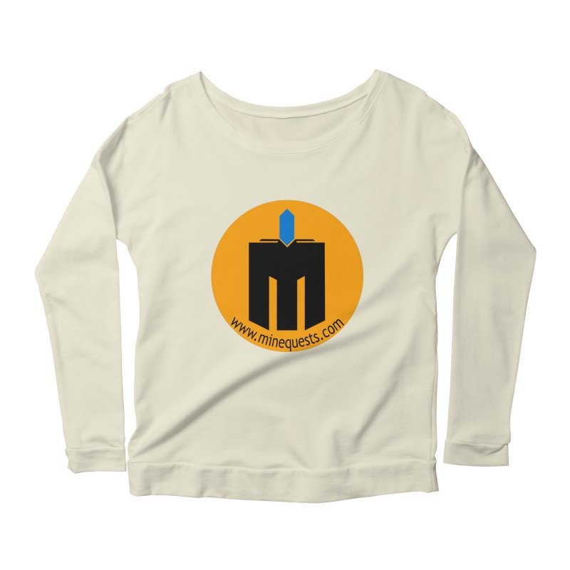 MQ - Website Women's Scoop Neck Longsleeve T-Shirt by minequests's Artist Shop