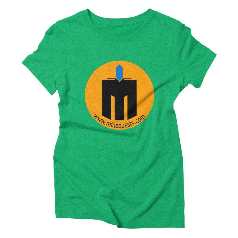 MQ - Website Women's Triblend T-Shirt by minequests's Artist Shop